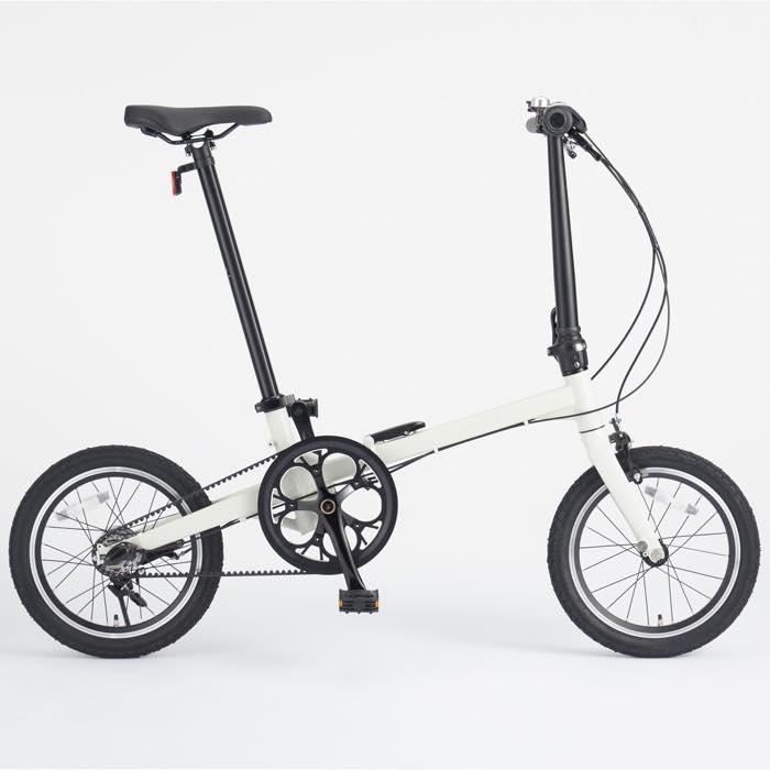 16型折りたたみ自転車・ベルトドライブ仕様
